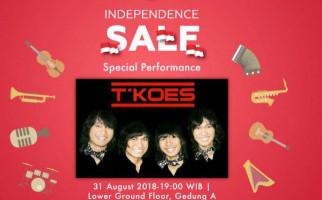 T-Koes Band Jadi Penutup Independence Sale di Pasaraya - JPNN.com