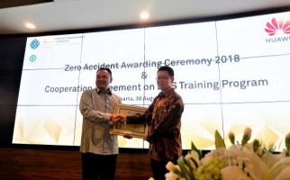 Huawei Indonesia Kembali Raih Zero Accident Award 2018 - JPNN.com