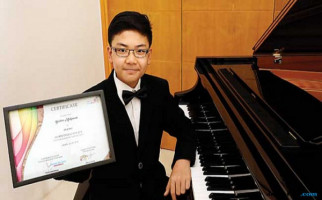 Keseruan Brahms Mulyawan jadi Anggota Termuda Orkestra GBN - JPNN.com