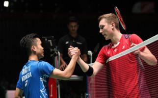 Ginting Gagal Bendung Axelsen, Indonesia Tertinggal 0-2 dari Denmark - JPNN.com