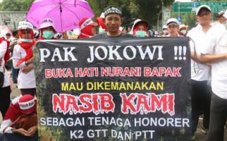Honorer K2: Malas Dibohongi Terus, Pindah ke Prabowo Saja - JPNN.com