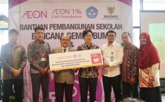 AEON Group Gandeng Baznas Salurkan Donasi untuk Korban Gempa - JPNN.com
