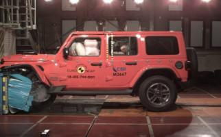 Jeep Wrangler Hanya Sebegini Raih Hasil Test Tabrak - JPNN.com