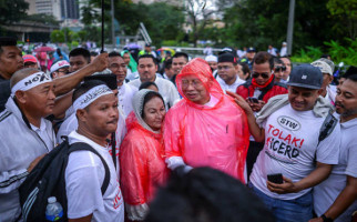 55 Ribu Pribumi Malaysia Ikut Aksi Bela Diskriminasi Rasial - JPNN.com