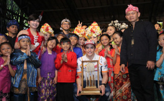 Jejak Marc Marquez di Bandung, dari Kujang Hingga Angklung - JPNN.com