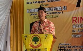 12 DPD Partai Berkarya Sumsel Kirim Surat Penting ke Tommy Soeharto - JPNN.com