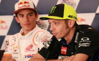 Insiden Kecelakaan Marquez, Rossi: Saya Lebih Bersemangat - JPNN.com