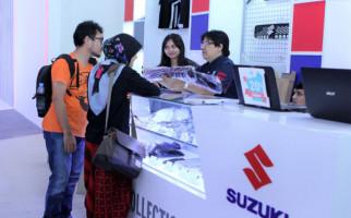 IIMS 2019: Suzuki Beri Diskon Jutaan Rupiah untuk Aksesori dan Apparel - JPNN.com