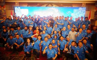 Intip Suasana Pelantikan Pengurus KNPI Haris Pertama - JPNN.com