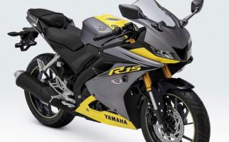 Yamaha R15 Kian Segar dengan Warna dan Stripping Baru, Harga Rp 35,7 Juta - JPNN.com