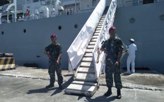 Prajurit Petarung Yonmarhanlan V Amankan Kapal Perang Hai Yang 25 - JPNN.com