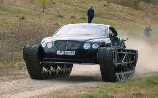 Modifikasi Bentley Continental GT ala Tank Tempur - JPNN.com