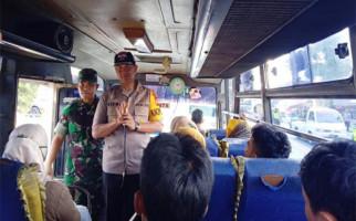 Antisipasi People Power, Polres Ciamis Razia Massa yang ke Jakarta - JPNN.com