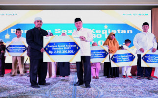 BTN Donasikan Rp2,24 Miliar Selama Safari Ramadan - JPNN.com