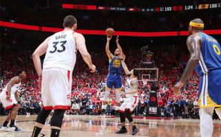 Dramatis, Golden State Warriors Menang Setengah Bola di Game Kelima NBA Finals - JPNN.com