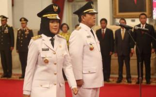 Dilantik di Istana Negara, Arinal - Chusnunia Resmi Pimpin Lampung 2019 - 2024 - JPNN.com