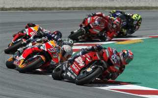 Hasil MotoGP Catalunya 2019: Start 24 Pembalap, Finis Cuma 13 - JPNN.com