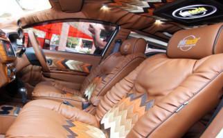 Intip Kecantikan Songket Bali di Interior Toyota Agya - JPNN.com
