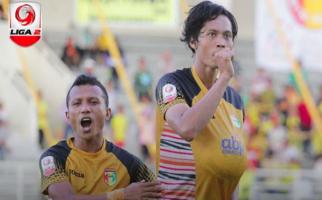 Selebrasi Gol Rishadi Fauzi untuk Calon Buah Hati - JPNN.com