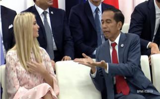 Heboh! Pak Jokowi Bicara Apa ya Sama Ivanka Trump - JPNN.com