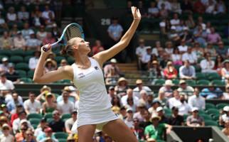 Petenis Eksotis Ceko Karolina Pliskova Mulus ke 16 Besar Wimbledon 2019 - JPNN.com
