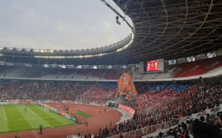 Persija vs PSM: Jalanan Macet, Suporter Masih Antre Masuk SUGBK - JPNN.com