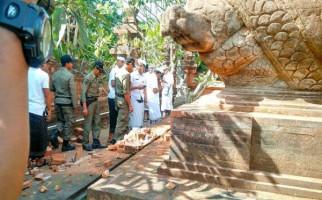 Gempa di Bali, Pura Agung Lokanatha Rusak Parah - JPNN.com