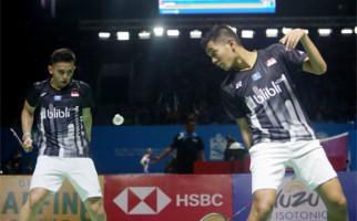 Maaf ya, Fajar / Rian Memang Belum Siap ke Semifinal Blibli Indonesia Open 2019 - JPNN.com