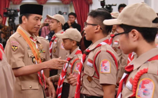 Pesan Presiden Jokowi untuk Pramuka Peserta Jambore Kepanduan Dunia - JPNN.com
