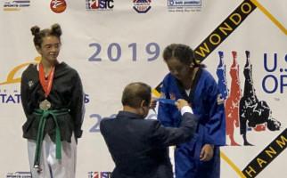 Jeshua dan Angelina Torehkan Prestasi Taekwondo di Negeri Paman Sam - JPNN.com