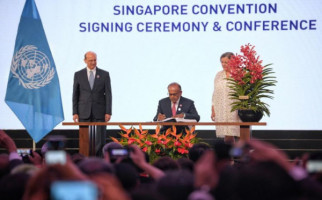 46 Negara Teken Konvensi Mediasi Singapura - JPNN.com