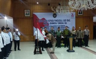 Wiranto Saksikan Ikrar Setia kepada Pancasila oleh Eks Harakah Islam Indonesia - JPNN.com