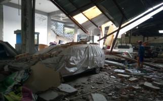 Ledakan Keras Hancurkan Satu Rumah Warga di Kuala Tungkal Jambi - JPNN.com