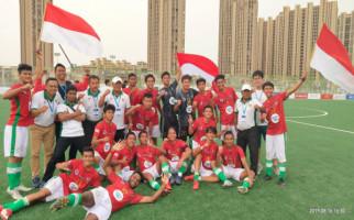 Timnas Pelajar U16 Kemenpora Catat Hattrick di Gothia Cup 2019 - JPNN.com
