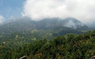 Kebakaran Melanda Lereng Gunung Agung - JPNN.com