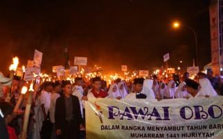 Ribuan Masyarakat Pandeglang Sambut Tahun Baru Islam - JPNN.com
