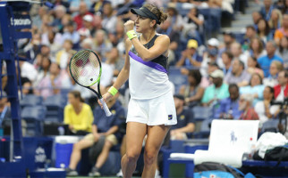 Belinda Bencic, Si Cantik yang Menyingkirkan Juara Bertahan US Open di 16 Besar - JPNN.com