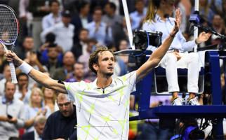 Tembus Final US Open 2019, Daniil Medvedev Terpaksa Bilang I Love USA - JPNN.com