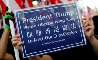 Demonstran Hong Kong: Terima Kasih Presiden Trump Atas Hadiahnya - JPNN.com