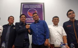 Jelang Pilkada Medan 2020, Menantu Jokowi Sambangi Kantor NasDem Sumut - JPNN.com