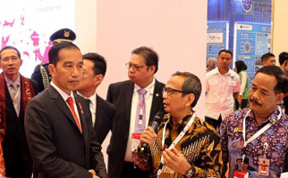 Budi Permana Jelaskan Teknologi JAM kepada Presiden Jokowi - JPNN.com