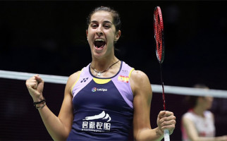 Carolina Marin Menangis Bahagia Usai Final China Open 2019 - JPNN.com