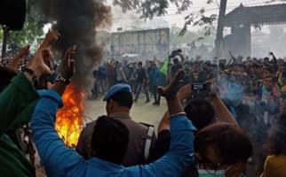 DPO Teroris Ditangkap Polisi Saat Kericuhan Demo Mahasiswa, Ternyata... - JPNN.com