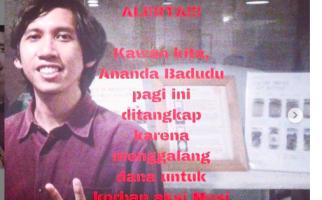 Polda Metro Jaya Ancam Jerat Ananda Badudu dengan UU ITE - JPNN.com