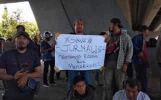 Tiga Jurnalis Korban Kekerasan Saat Demo Mahasiswa Diperiksa Propam - JPNN.com