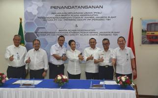 PT PP dan KAI Bangun Kawasan Hunian di Stasiun Juanda - JPNN.com