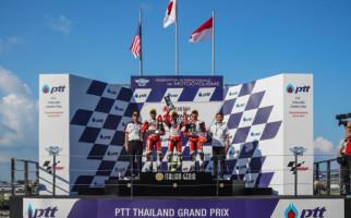2 Pembalap Indonesia Kibarkan Bendera Merah Putih di ATC Thailand - JPNN.com