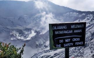 Aktivitas Vulkanik Gunung Tangkuban Parahu Menurun - JPNN.com