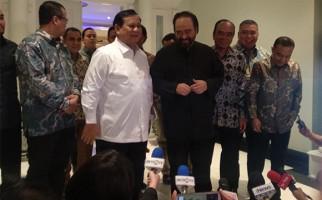 Percayalah, Prabowo dan Surya Paloh Tak Bicarakan Jatah Menteri - JPNN.com