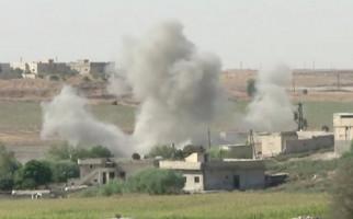 Biadab, Pesawat Tempur Turki Serang Konvoi Warga Sipil dan Jurnalis di Suriah - JPNN.com